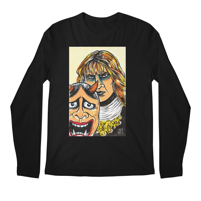 The Dangerous Queen Men's Regular Longsleeve T-Shirt by JB Roe Artist Shop