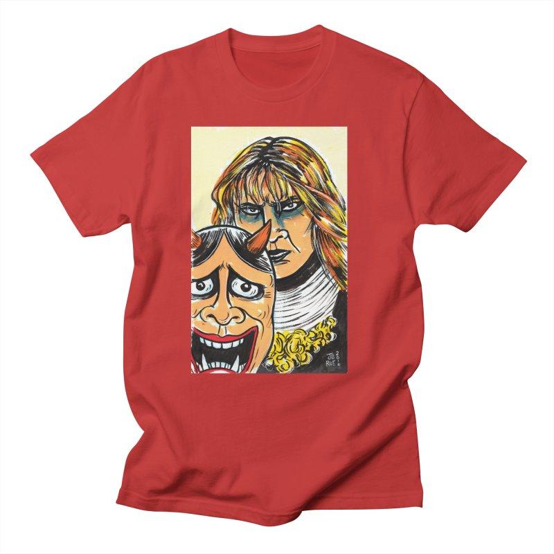 The Dangerous Queen Men's Regular T-Shirt by JB Roe Artist Shop