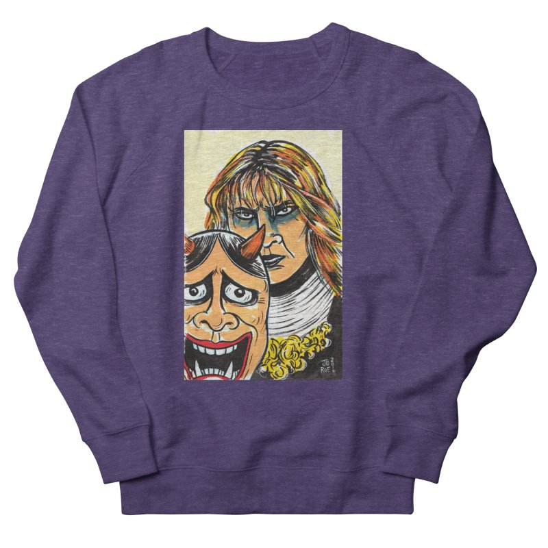 The Dangerous Queen Women's French Terry Sweatshirt by JB Roe Artist Shop