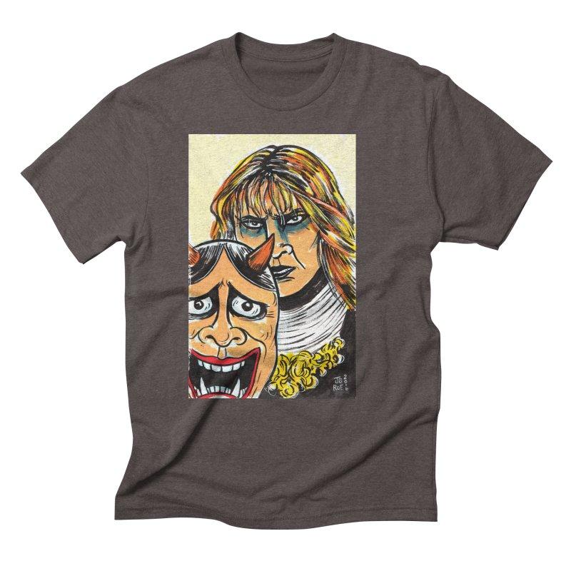 The Dangerous Queen Men's Triblend T-Shirt by JB Roe Artist Shop