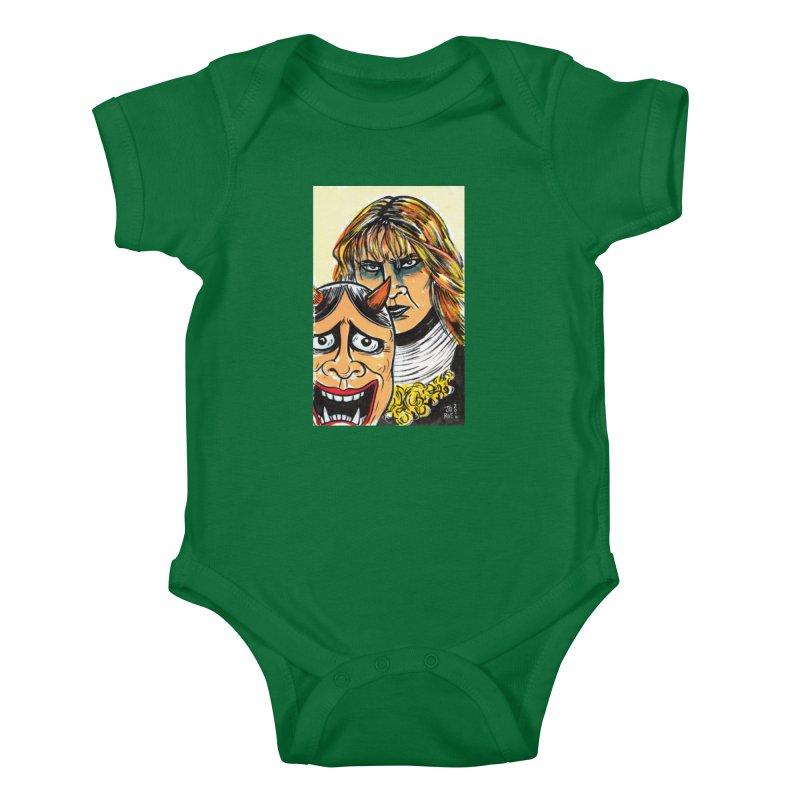 The Dangerous Queen Kids Baby Bodysuit by JB Roe Artist Shop