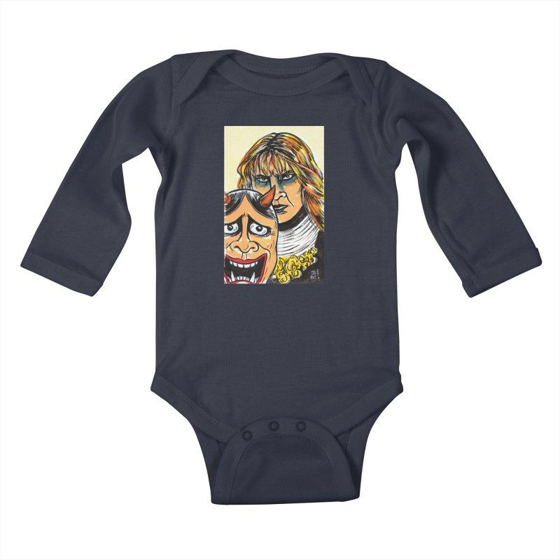 The Dangerous Queen Kids Baby Longsleeve Bodysuit by JB Roe Artist Shop