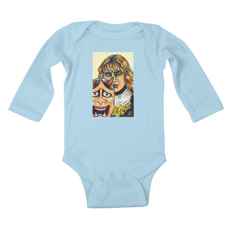 The Dangerous Queen Kids Baby Longsleeve Bodysuit by JB Roe Artist Shop