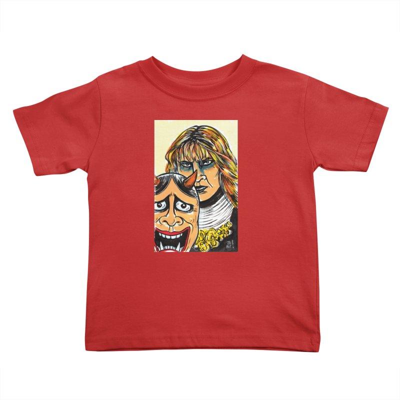 The Dangerous Queen Kids Toddler T-Shirt by JB Roe Artist Shop