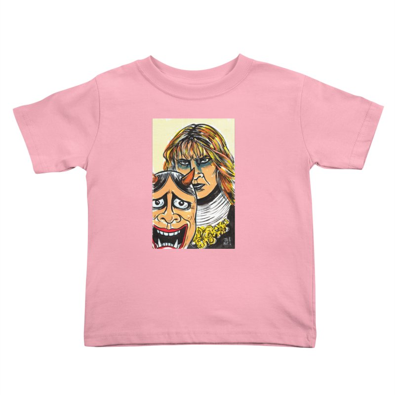 The Dangerous Queen Kids Toddler T-Shirt by JB Roe Artist Shop