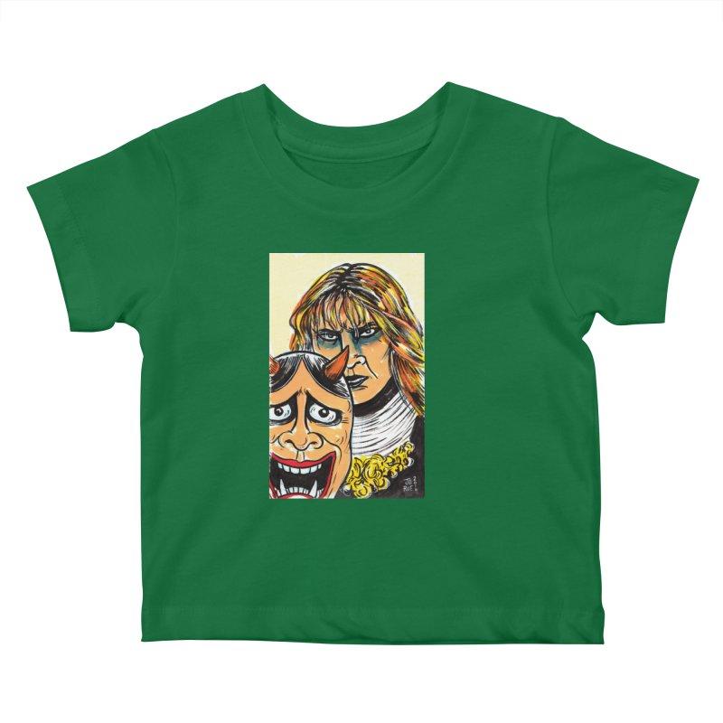 The Dangerous Queen Kids Baby T-Shirt by JB Roe Artist Shop