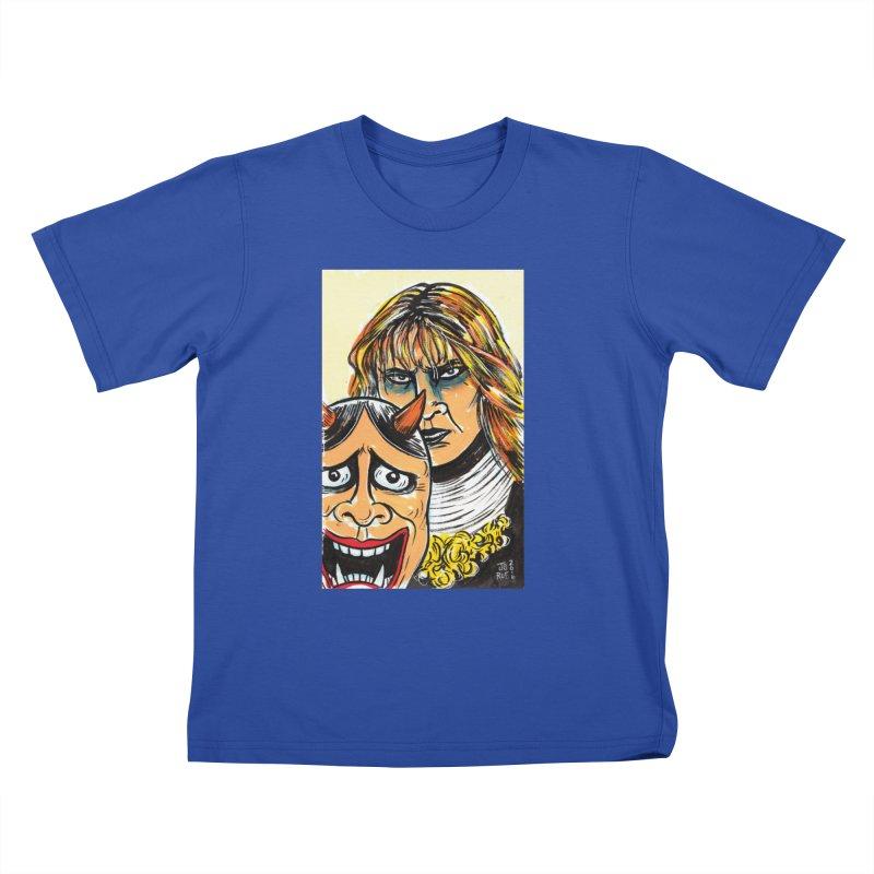 The Dangerous Queen Kids T-Shirt by JB Roe Artist Shop