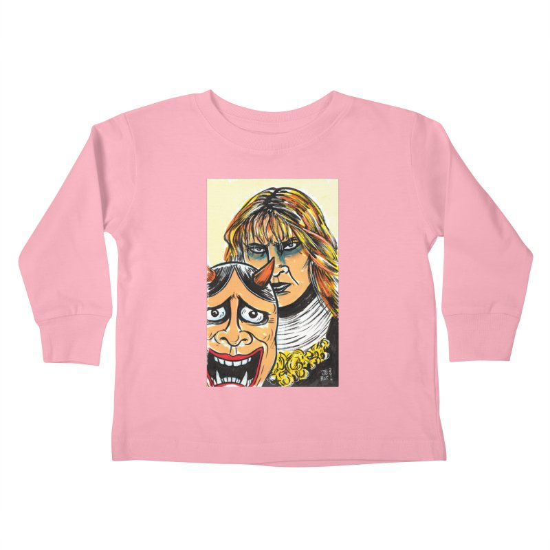 The Dangerous Queen Kids Toddler Longsleeve T-Shirt by JB Roe Artist Shop