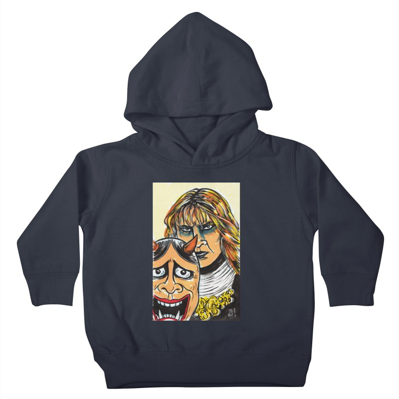 The Dangerous Queen Kids Toddler Pullover Hoody by JB Roe Artist Shop