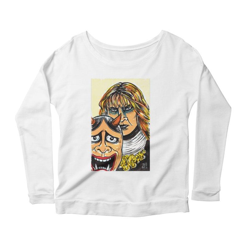 The Dangerous Queen Women's Scoop Neck Longsleeve T-Shirt by JB Roe Artist Shop