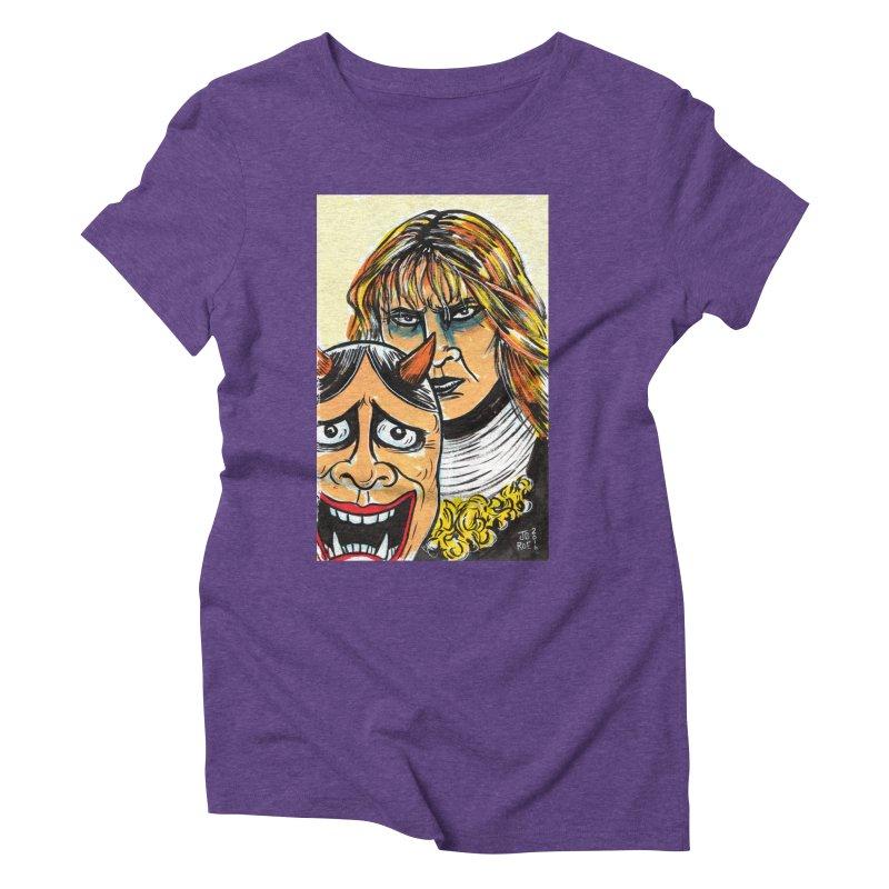 The Dangerous Queen Women's Triblend T-Shirt by JB Roe Artist Shop