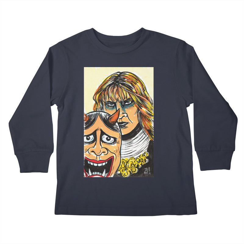 The Dangerous Queen Kids Longsleeve T-Shirt by JB Roe Artist Shop