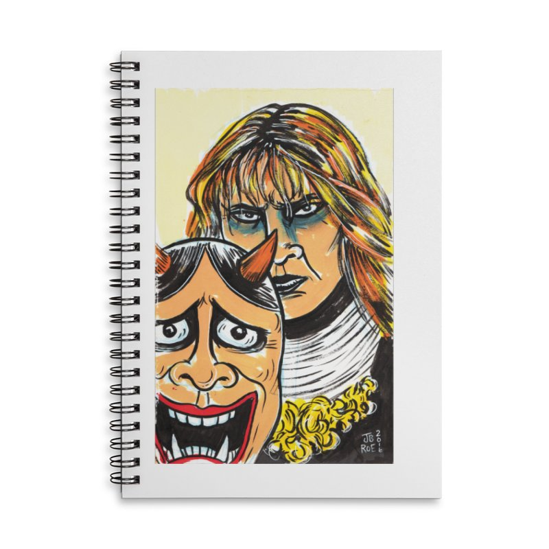 The Dangerous Queen Accessories Lined Spiral Notebook by JB Roe Artist Shop