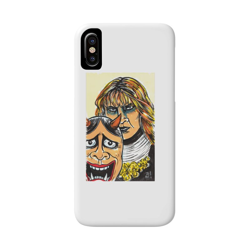 The Dangerous Queen Accessories Phone Case by JB Roe Artist Shop