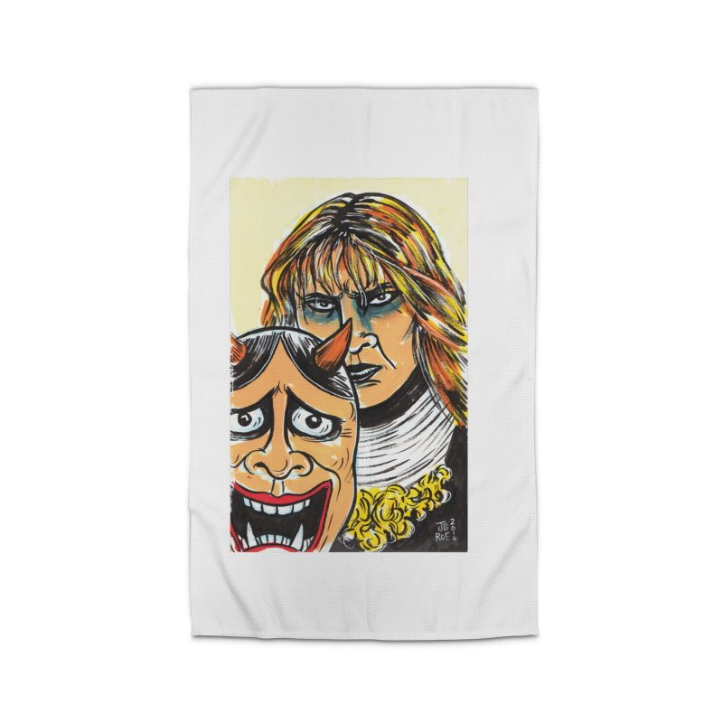 The Dangerous Queen Home Rug by JB Roe Artist Shop