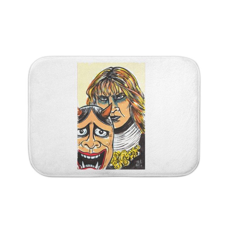 The Dangerous Queen Home Bath Mat by JB Roe Artist Shop