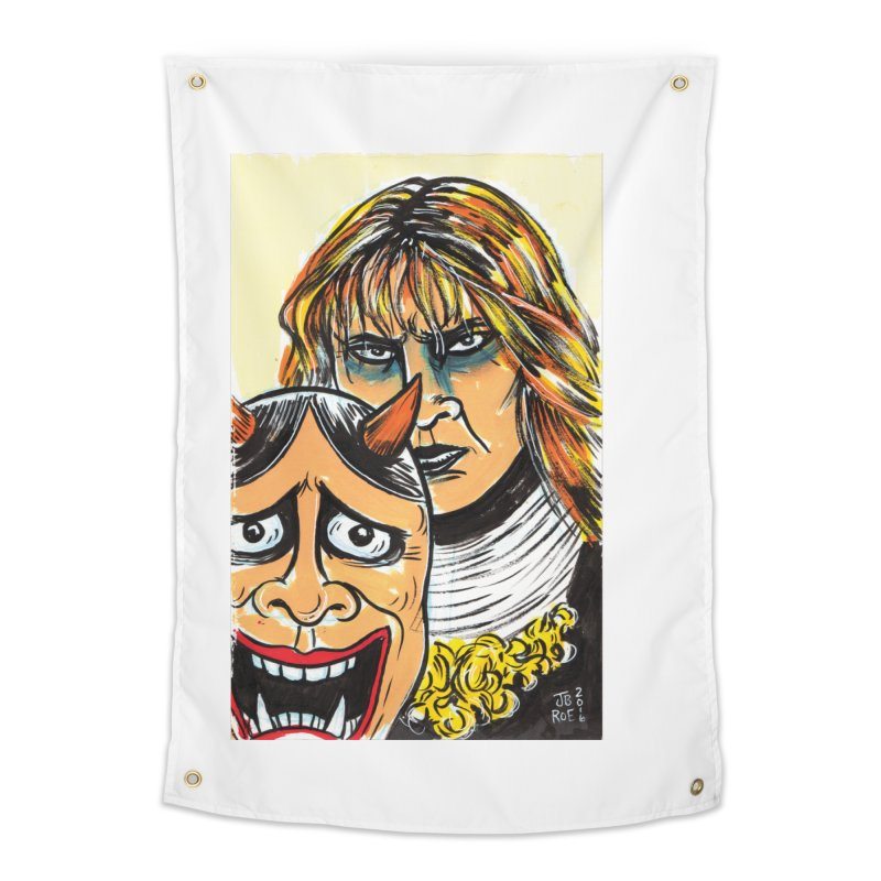 The Dangerous Queen Home Tapestry by JB Roe Artist Shop