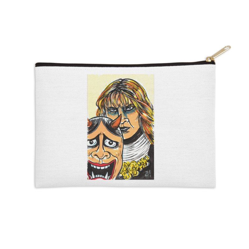 The Dangerous Queen Accessories Zip Pouch by JB Roe Artist Shop