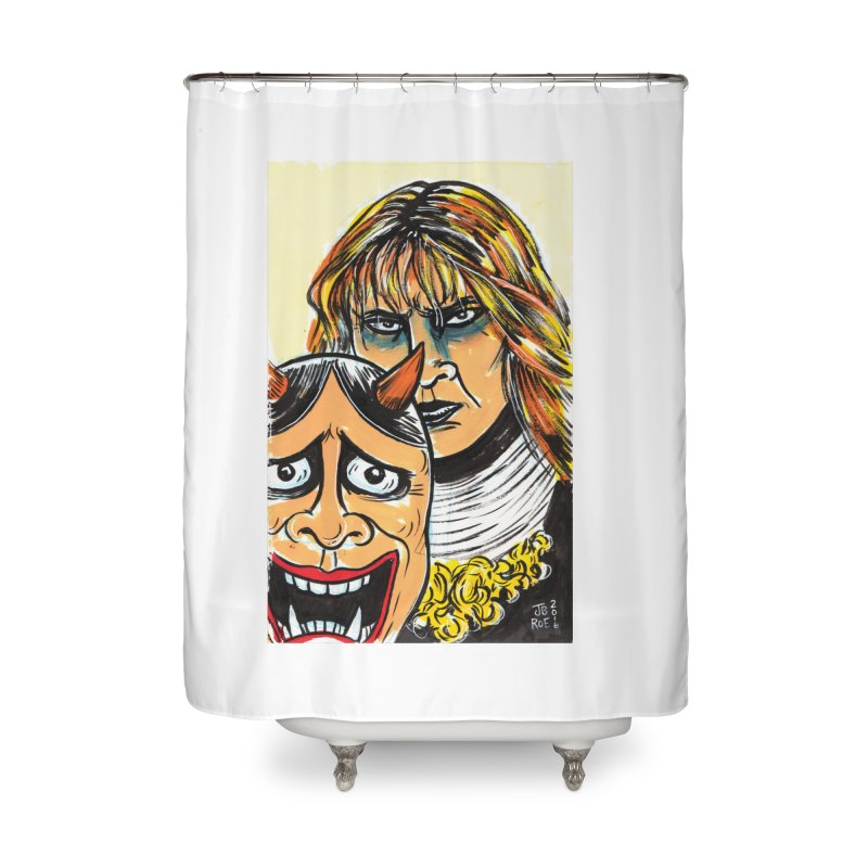 The Dangerous Queen Home Shower Curtain by JB Roe Artist Shop