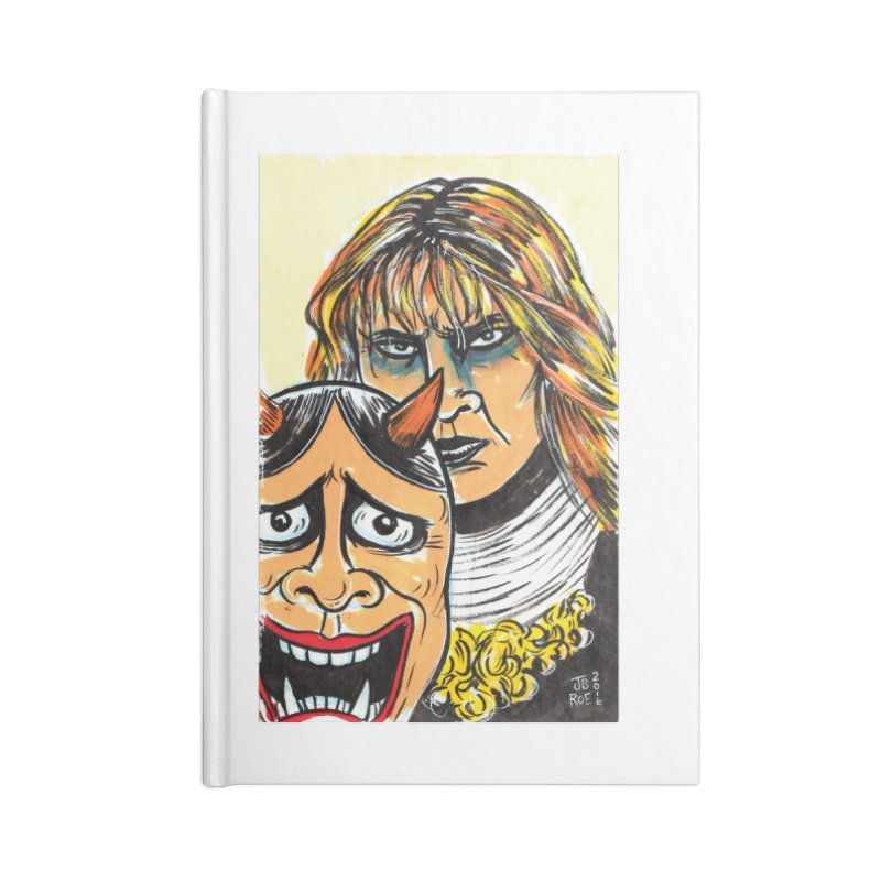 The Dangerous Queen Accessories Lined Journal Notebook by JB Roe Artist Shop