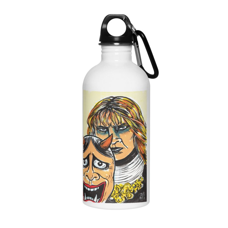 The Dangerous Queen Accessories Water Bottle by JB Roe Artist Shop