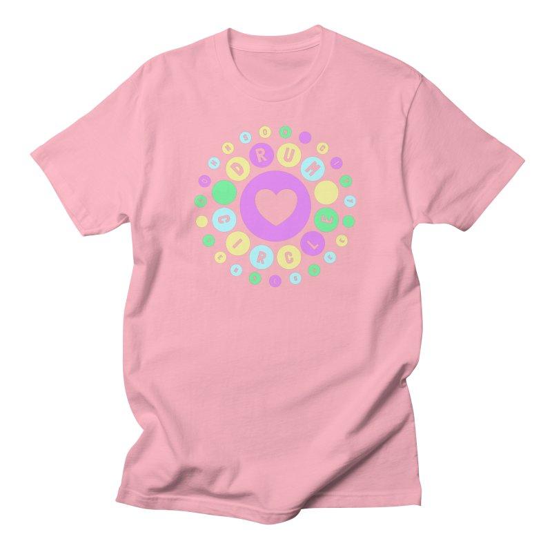 Heart Circle (spring) Men's T-Shirt by Johnson City Drum Circle Stuff