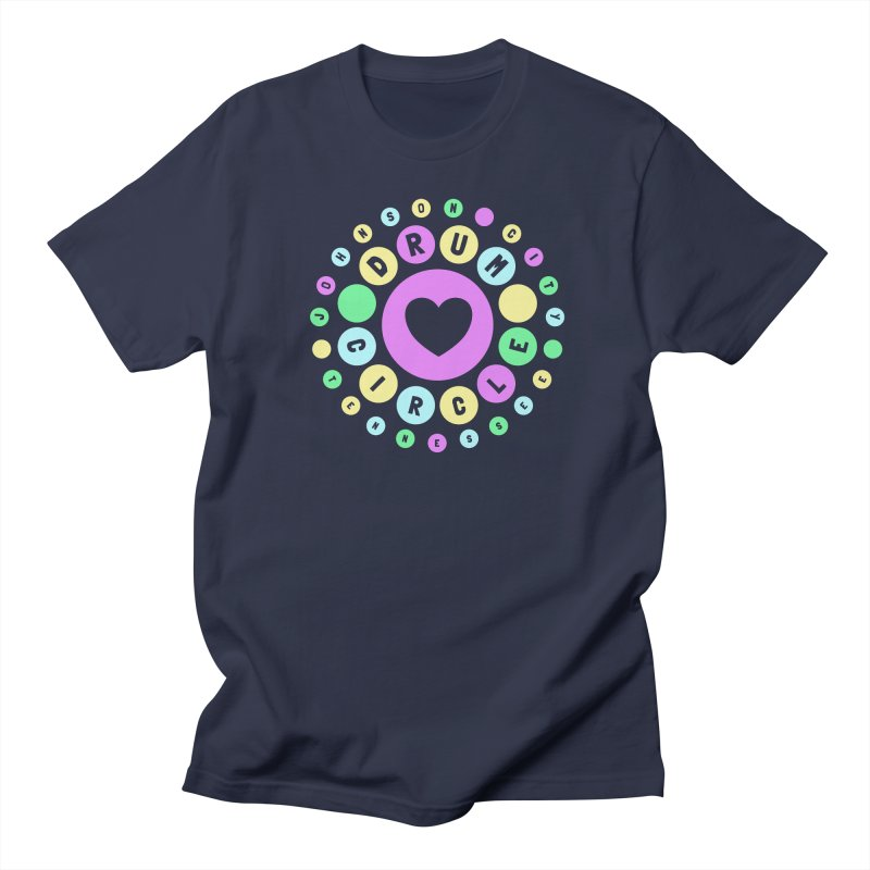 Heart Circle (spring) Men's T-Shirt by Johnson City Drum Circle Stuff