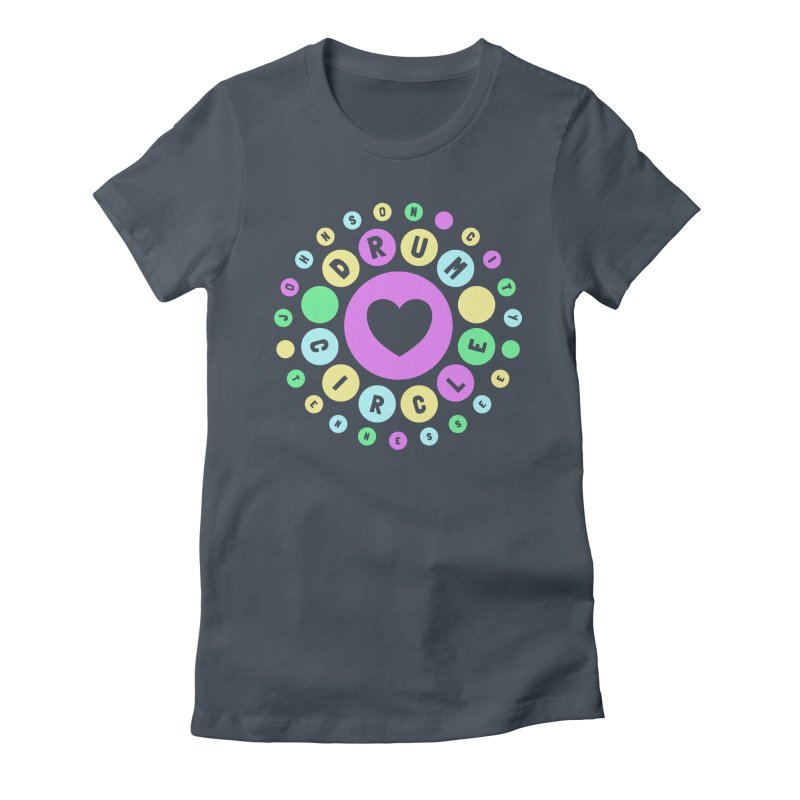 Heart Circle (spring) Women's T-Shirt by Johnson City Drum Circle Stuff