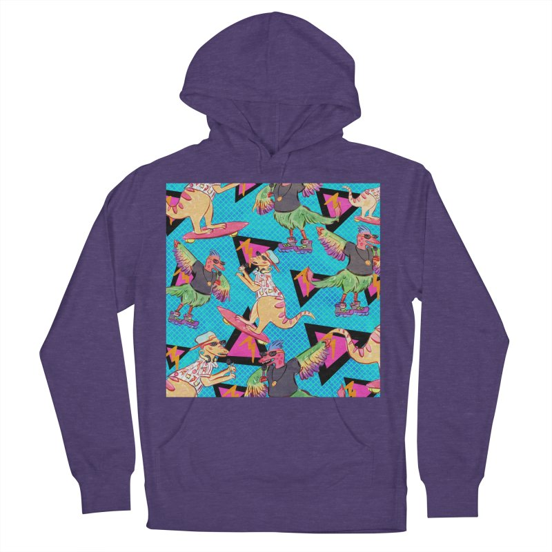 Dinobros Women's French Terry Pullover Hoody by Jen Chan's Shop
