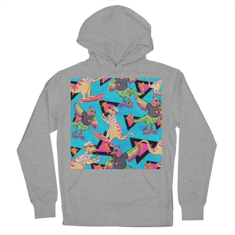 Dinobros Men's French Terry Pullover Hoody by Jen Chan's Shop