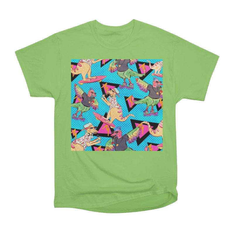 Dinobros Women's Heavyweight Unisex T-Shirt by Jen Chan's Shop