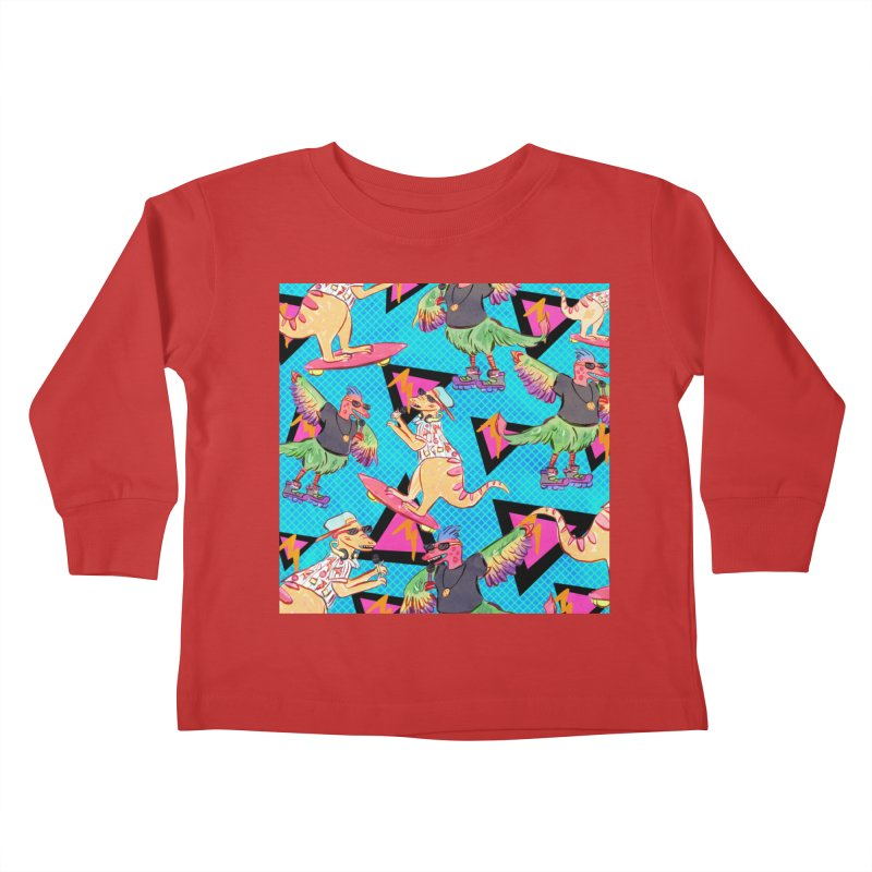 Dinobros Kids Toddler Longsleeve T-Shirt by Jen Chan's Shop