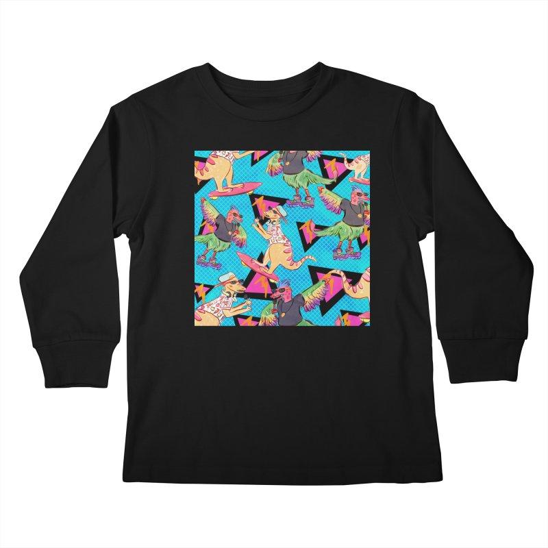 Dinobros Kids Longsleeve T-Shirt by Jen Chan's Shop
