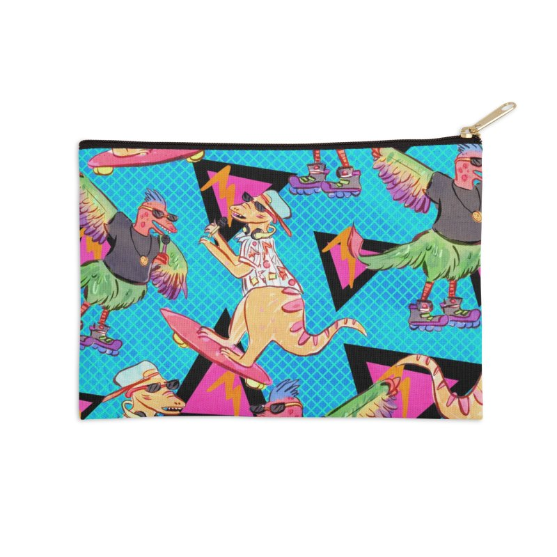 Dinobros Accessories Zip Pouch by Jen Chan's Shop