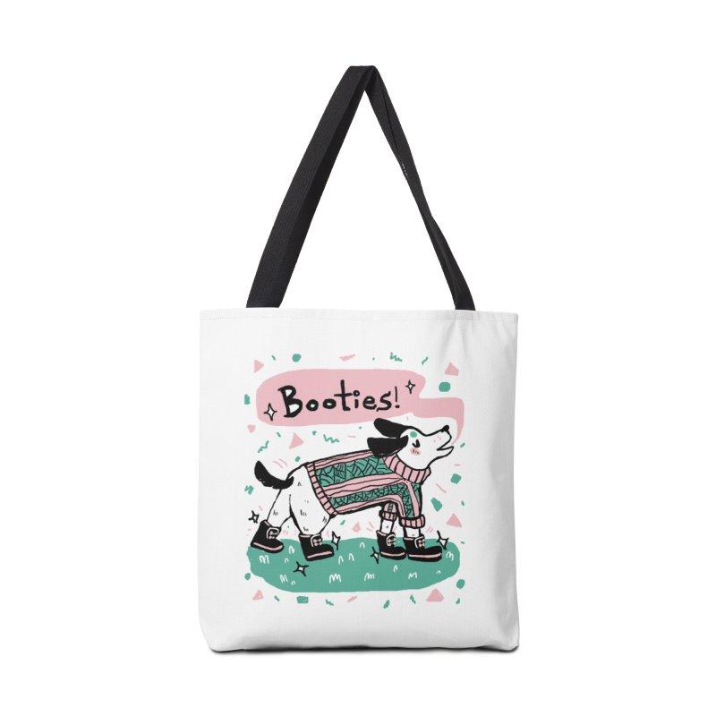 B-B-B-Booties Pup Accessories Bag by Jen Chan's Shop