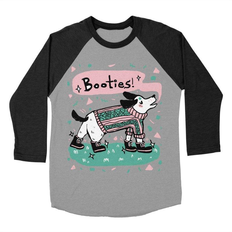 B-B-B-Booties Pup Women's Baseball Triblend Longsleeve T-Shirt by Jen Chan's Shop