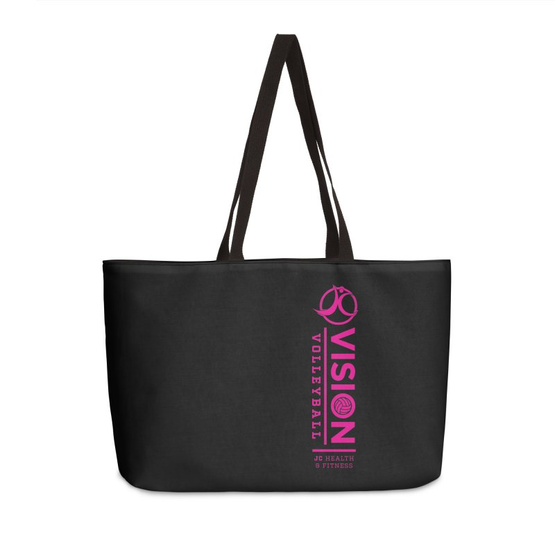 Vision Volleyball Accessories Weekender Bag Bag by JC Heath and Fitness