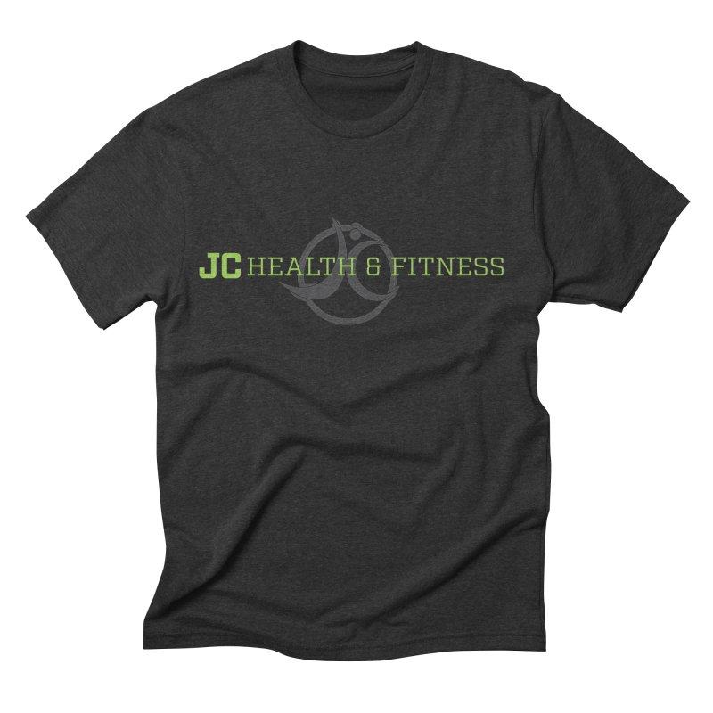 JC logo Men's T-Shirt by JC Heath and Fitness