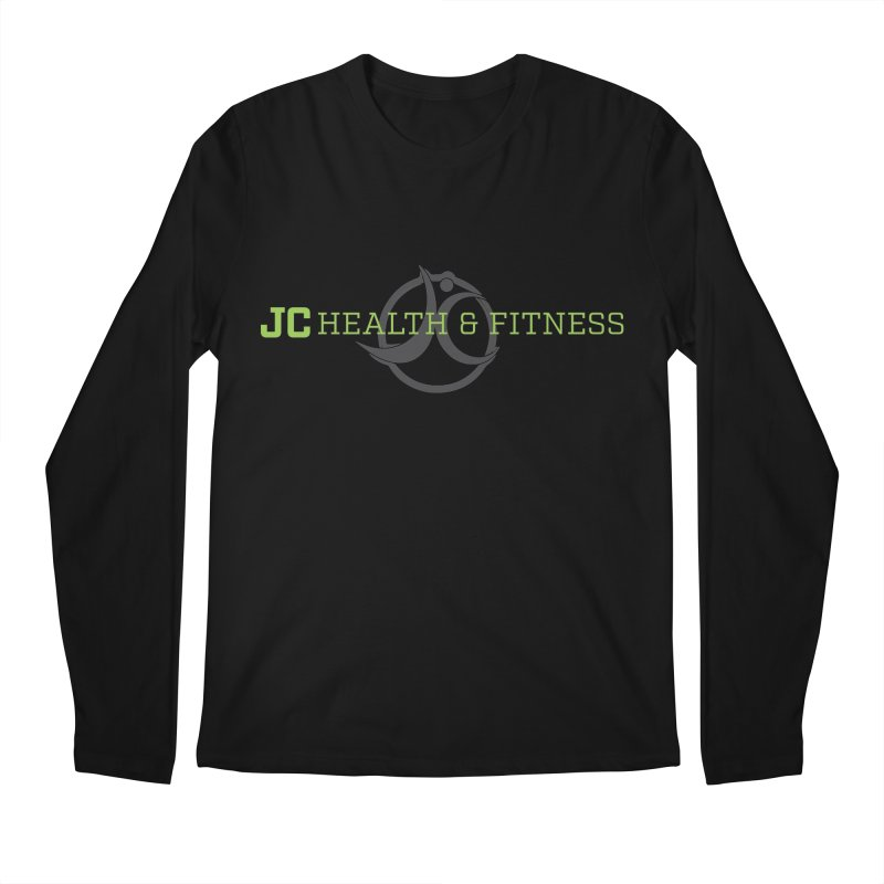 JC logo Men's Regular Longsleeve T-Shirt by JC Heath and Fitness