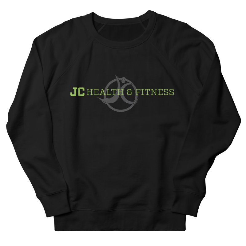 JC logo Women's French Terry Sweatshirt by JC Heath and Fitness