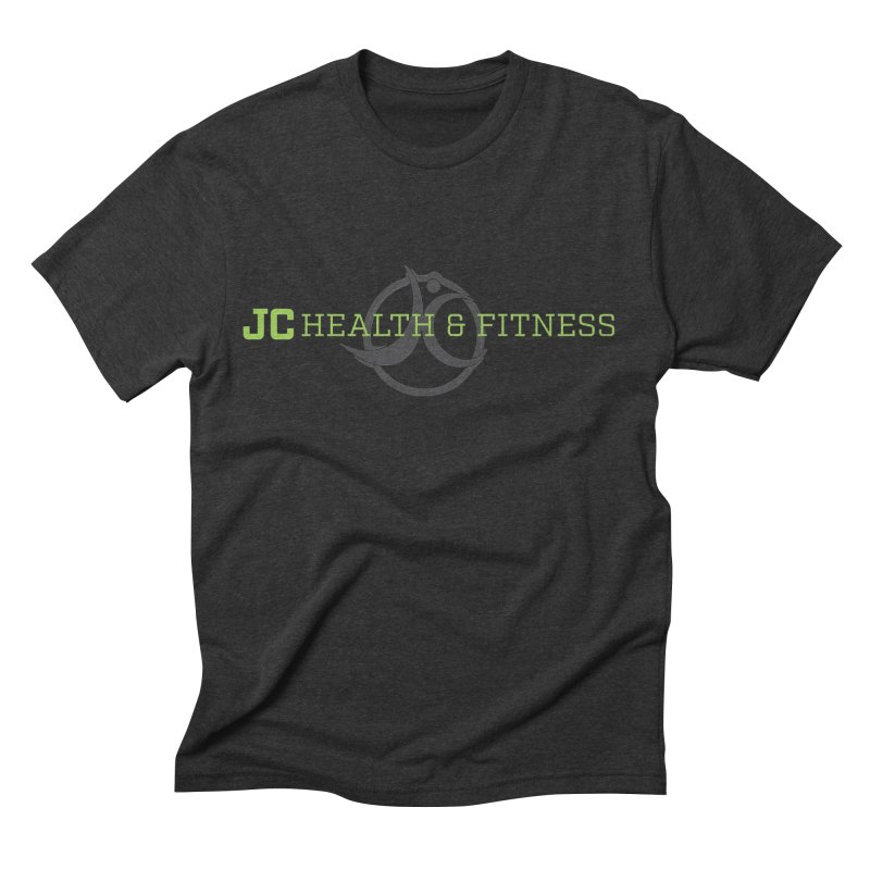 JC logo Men's Triblend T-Shirt by JC Heath and Fitness