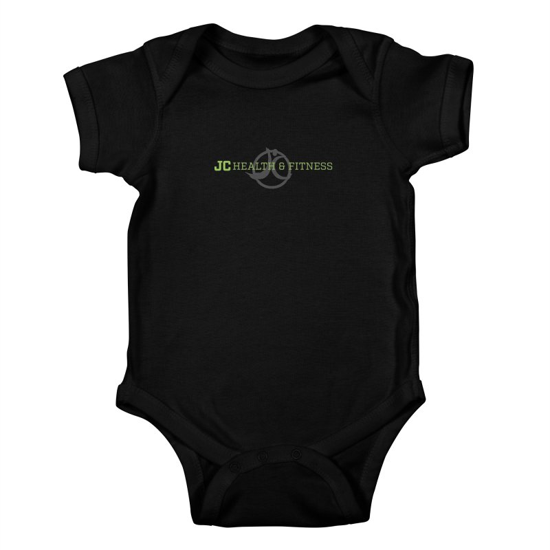 JC logo Kids Baby Bodysuit by JC Heath and Fitness