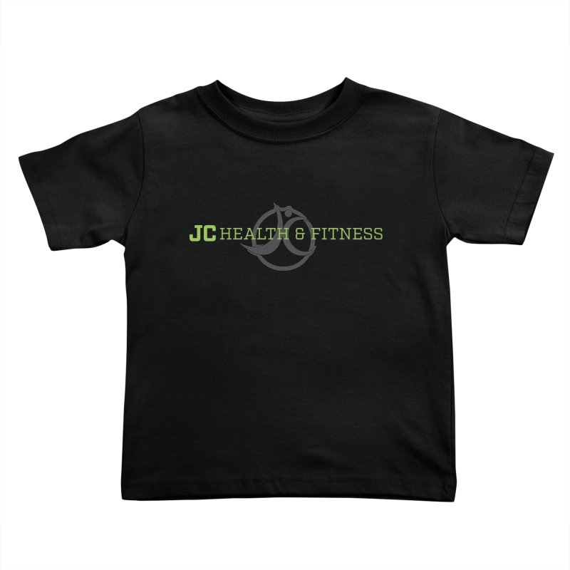 JC logo Kids Toddler T-Shirt by JC Heath and Fitness