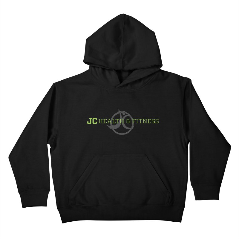 JC logo Kids Pullover Hoody by JC Heath and Fitness