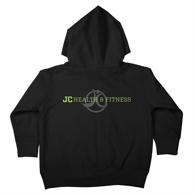 JC logo Kids Toddler Zip-Up Hoody by JC Heath and Fitness