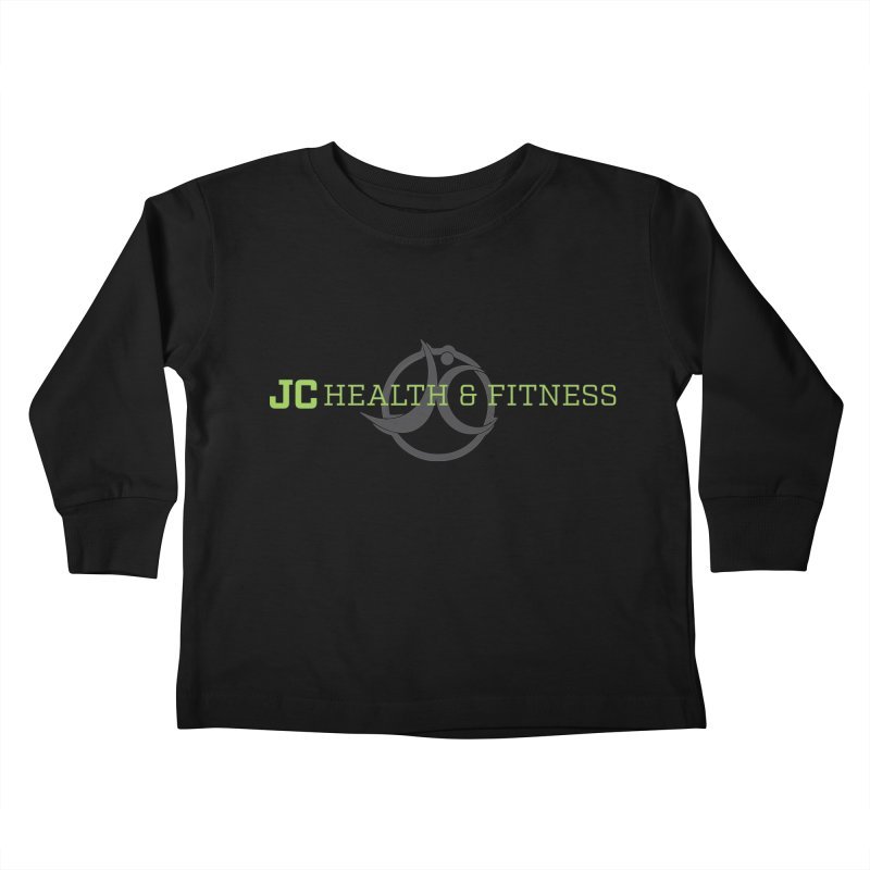 JC logo Kids Toddler Longsleeve T-Shirt by JC Heath and Fitness