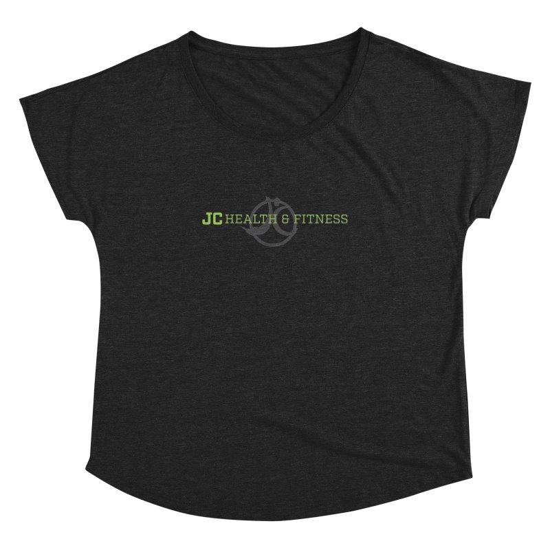 JC logo Women's Dolman Scoop Neck by JC Heath and Fitness