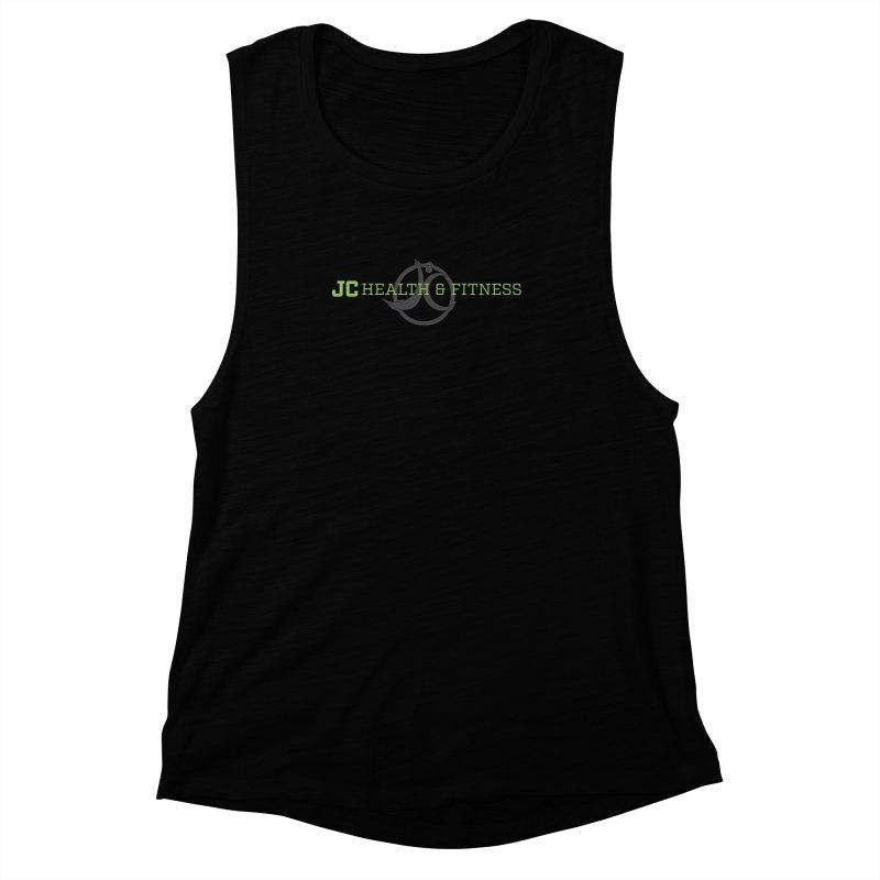 JC logo Women's Muscle Tank by jchealthfit's Artist Shop