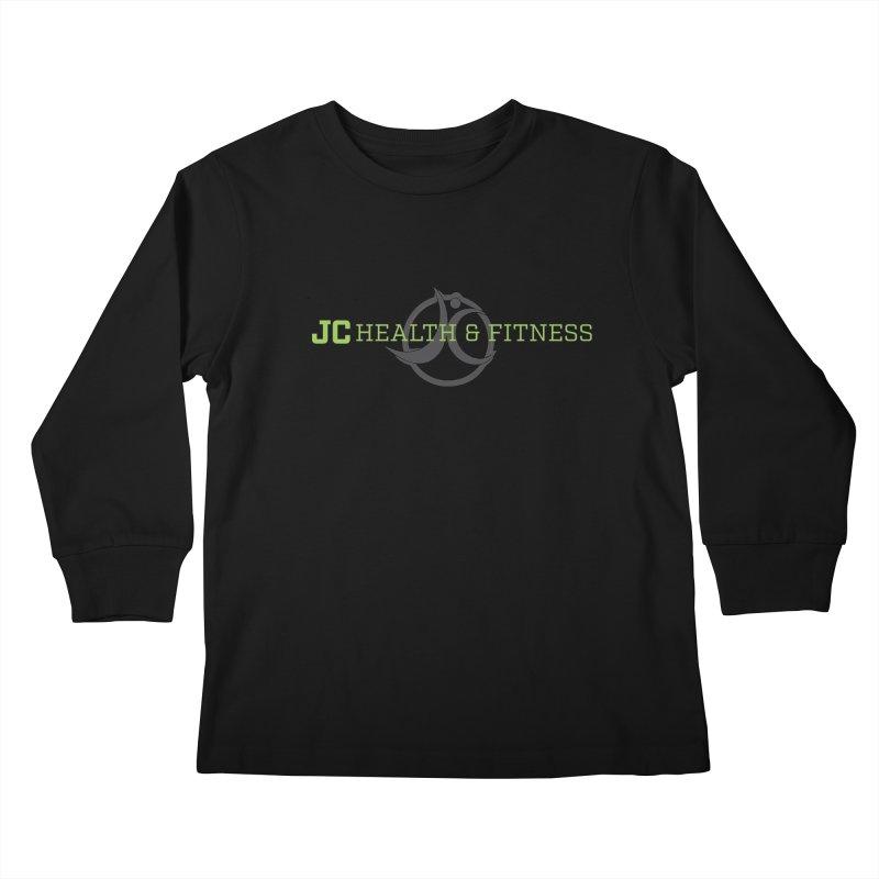 JC logo Kids Longsleeve T-Shirt by jchealthfit's Artist Shop