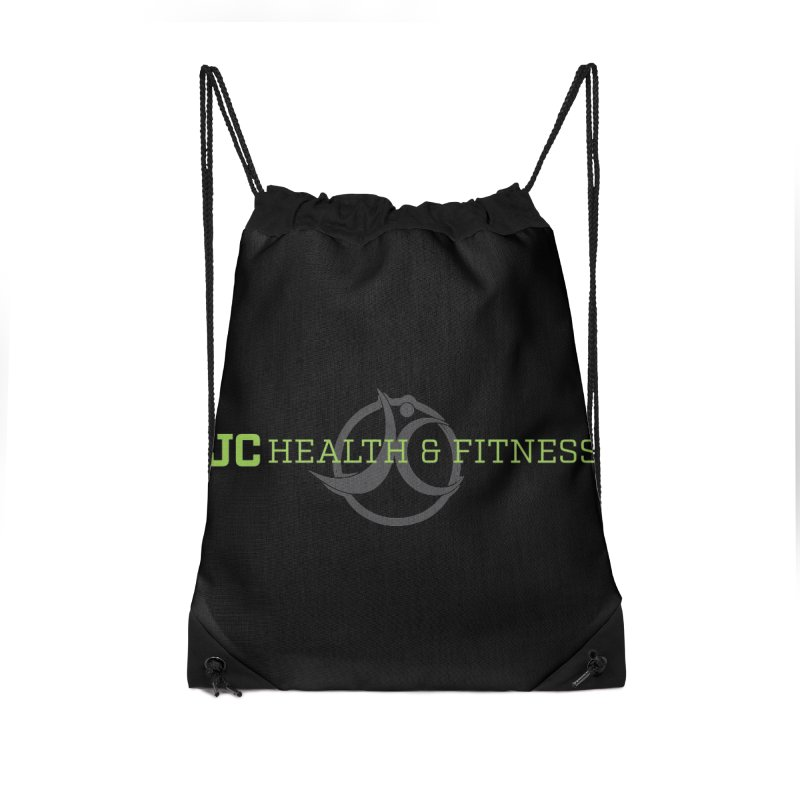 JC logo Accessories Drawstring Bag Bag by JC Heath and Fitness
